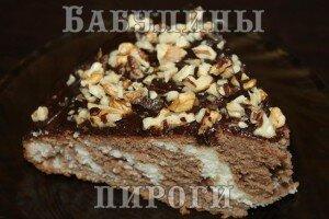 Сладкая выпечка - пирог Зебра